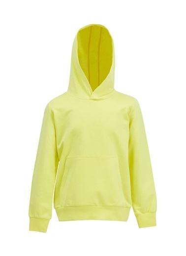 DeFacto Erkek Çocuk Kapüşonlu Sweatshirt Sarı